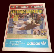FIFA WORLD CUP USA 1994 - BRAZIL CHAMPION - Dia newspaper