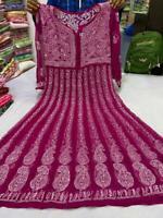 Indian wear georgette keel panel kurti