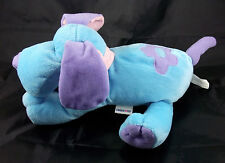 LIMITED TOO Blue Purple Pink Puppy Dog Bendable Ears Plush Stuffed Animal Toy