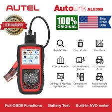 Autel AL539B Car Battery Circuit Tester OBD2 Code Reader Auto Diagnostic Scanner