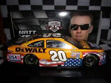 Matt Kenseth #20 DeWalt 2016 AUTOGRAPHED Camry Action 1:24 scale car NASCAR NIB