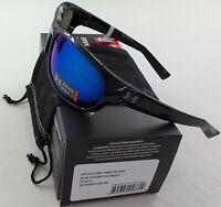 Under Armour Sunglasses Polarized Capture Storm Black Blue Mirror Microfiber New