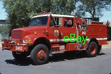 Fire Truck Photo CA Divn. of Forestry IHC Master Body Engine Apparatus Madderom