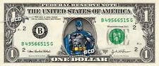 BATMAN on a REAL Dollar Bill SUPER HERO Cash Money Collectible Memorabilia Bank