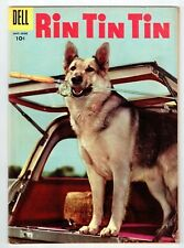 Dell Gold Key RIN TIN TIN #13 May June 1956 vintage comic FN condition