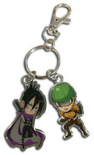 NEW GE One Punch Man Sonic and Mumen Rider Metal Keychain GE37258 US Seller