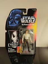 Kenner Star Wars Power Of The Force Red Card Han Solo In Carbonite