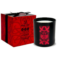 Magma London - Luxury Scented Candle - Deluxe Gift Box - Fig and Sea Salt 38 cl