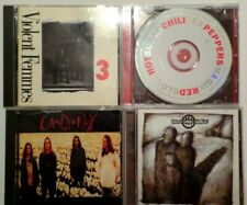 4 CDs preowned Violent Femmes, Red Hot Chili Peppers, Candlebox, 3 Days Grace