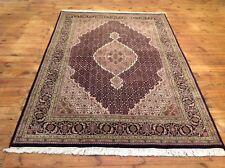 Wunderschöne Orientteppich Tabriz Mahi mit Seide 247 X 171  CM   Top zustand Neu