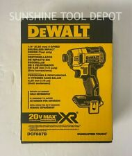 "DeWalt DCF887B 20V MAX XR® 1/4"" 3-Speed Impact Driver (BARE) (In Box)"
