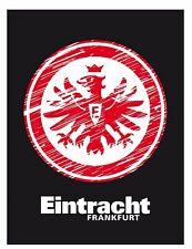 Bertels 1/051921 Eintracht Frankfurt Veloursdecke Logo 150x200cm