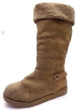 G by GUESS HORIZAN NATURAL TAN MID-CALF WINTER SNOW BOOTS SHOES  Women's 8.5 M
