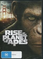 RISE OF THE PLANET OF THE APES - James Franco, Andy Serkis, Freida Pinto - DVD