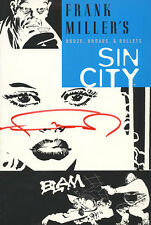 Frank Miller Signed Autographed Sin City Vol. 6 Booze Broads & Bullets Sc *New*