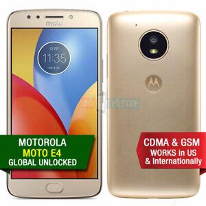 Motorola Moto E4 XT1768 16GB LTE CDMA GSM Unlocked Verizon T-Mobile AT&T A-Grade