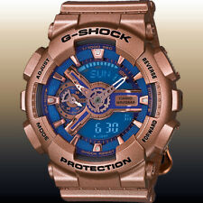 Casio GMA-S110GD-2A Women's S-Series G-SHOCK Ana-Digital Gold Watch 200M New