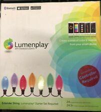 LUMENPLAY APP ENABLED C9 LED HOLIDAY CHRISTMAS LIGHTS EXTENDER TVL15020