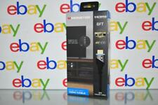 Monster HDMI Cable 4K HDR Ultra HD 6FT LED Blue Lighted NEW