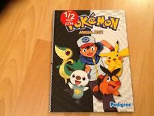 POKEMON 2012 ANNUAL  NEW unused  COLLECTORS CONDITION