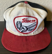 Vtg Snap-On Tools K Brand Mesh Trucker Hat Snapback Red/White *As Is Read*