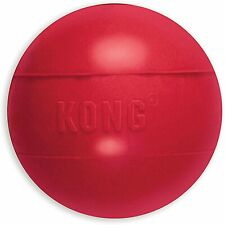 KONG - Ball with Hole - Durable Rubber, Fetch Toy for Medium/Large Dogs 13-30kg