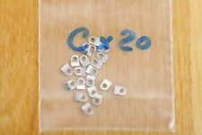 Case clamp mounting  tab C (2.7x2.0mm) 20 pieces for ETA Valjoux movements