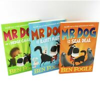 Mr Dog & The Rabbit Habit 3 Books Children Collection Paperback Set By Ben Fogle