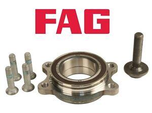 For Audi A4 A5 A6 Quattro Q5 RS7 S4 S5 Rear Left or Right Wheel Bearing Kit FAG