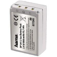 Hama batería DP 341 de ion de litio para Casio exilim pro ex-f1, diseño idéntico np-100, 77341