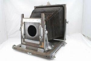 Okuhara Camera 6 1/2 x 8 1/2 6.5 x 8.5 wood Field Body *T11