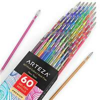 ARTEZA Gel Ink Pens, Refills, Set of 60