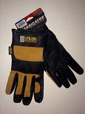 Mechanix Wear Fabricator Gloves Welding Leather Construction Race Medium 9