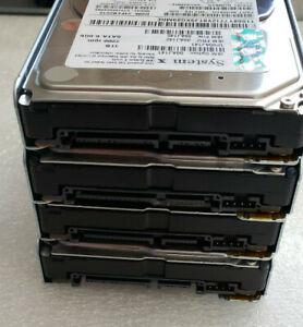 "Lot of 4 IBM LENOVO 1TB 7.2K 2.5"" 6GB SATA SFF HotSwap ardDrive 00AJ142 00AJ141"