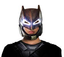 Mens Adult Batman Armored Light Up Mask DC Comics Batman v Superman Superhero