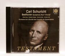 CARL SCHURICHT - BEETHOVEN symphony no.9 TESTAMENT CD NM