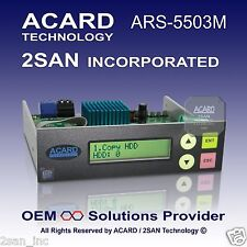 ACARD ARS-5503M 1-to-3 SATA HDD/SSD/DOM Duplicator Controller (60MB/Sec)