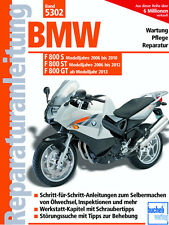 BMW F800 S/F800 ST 2006-2012 F800 GT AB 2013 REPARATURANLEITUNG 5302 WARTUNG