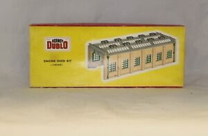 HORNBY DUBLO ENGINE SHED EMPTY BOX CAT NO 5005