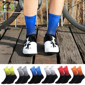 Cycling Socks Men Womens Road Mountain Bike Sport Sock Breathable Quick Dry Gift