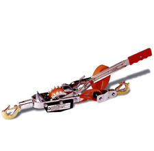 Heavy Duty 2 Ton Come Along Long Haul Web Strap Puller With 2 Hooks Lightweight