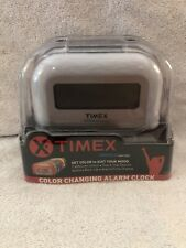 Timex Indiglo 7 Color Changing Alarm Clock NEW IN BOX Battery Back Up X