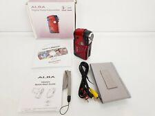 Alba TDV521 Digital Video Grabadora Cámara De Bolsillo 5.0MP, en caja con tarjeta SD de 4GB