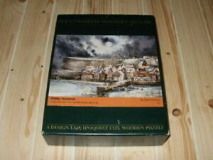"""Wentworth 250 Piece Wooden Jigsaw Puzzle """"Whitby Nocturne"""" **COMPLETE**"""