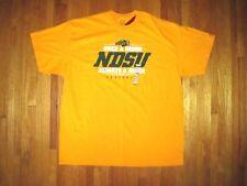 National Champion North Dakota State Bison Football Gold T-Shirt Size 2XL NWT