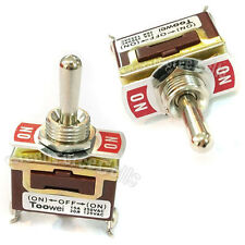 1 (On) -OFF- (On) SPDT Interrupteur à bascule Bateau 15A 250V 20A 125V ac