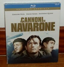 THE GUNS OF NAVARONE BLU-RAY NEW SEALED EDITION SPECIAL SPANISH R2