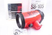 New Nikon Nikonos SB-105 Flash / Strobe / Speedlight Light. In box for nikonos V