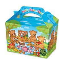 24 osos de peluche Jardín Picnic Fiesta Cumpleaños Cajas ~ Infantil Diversión