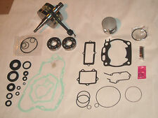 KAWASAKI KX 250 ENGINE REBUILD KIT GASKET BEARINGS PISTON CRANKSHAFT 92-01 MOTOR